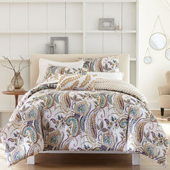 Paisley Comforter, GOLD MULTI