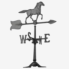 "24"" Horse Accent Weathervane,"