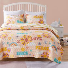 Greenland Home Fashions Cassidy Quilt and Pillow Sham Set,