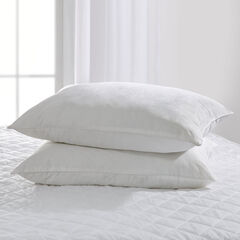 Cotton Sateen Print Pillow 2-Pack,