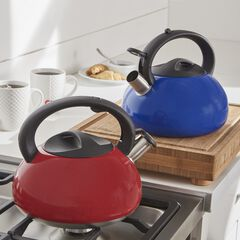 3-Lt. Stainless Whistling Kettle, RED