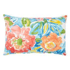 20' x 13' Lumbar Pillow, POPPY BLUE