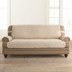 Secure Fit Microsuede Sofa Protector,