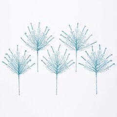 18' Shimmer Fern Tree Picks, Set of 5,
