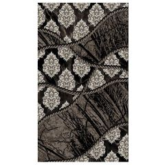Jewel Brown/Black Rug Collection,