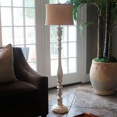 Nadia Sculpted Floor Lamp,