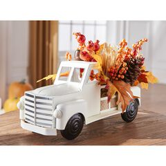 Harvest Wheat Truck with Foliage,