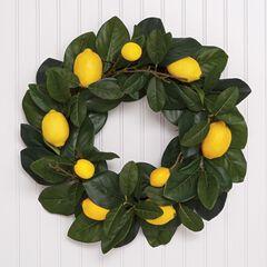 Lemon Wreath,