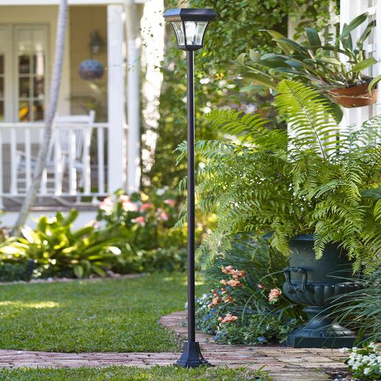 Solar Garden Lamp Post Outdoor