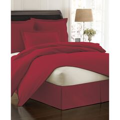 Fresh Ideas Poplin Tailored Bed Skirt,