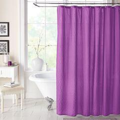 BH Studio Textured Shower Curtain,