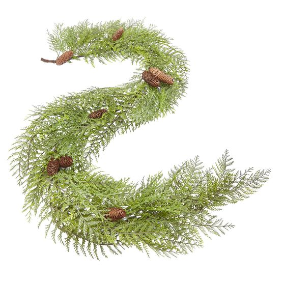 Soft Pine Garland, GREEN