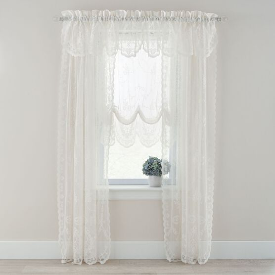 Marie Floral Lace Balloon Shade,