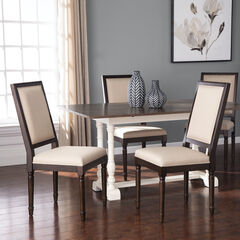 Earlston Upholstered Dining Chairs – 2pc Set,