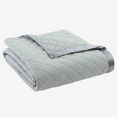 Micro Flannel® Quilted Blanket,