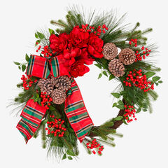 "33"" Bellmead Wreath, MULTI"