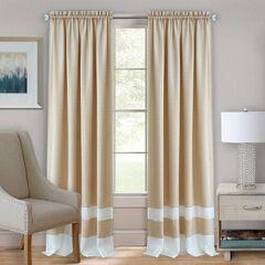 Darcy Rod-Pocket Window Curtain Panel,