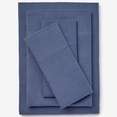 Bed Tite™ Solid Flannel Sheet Set, SLATE BLUE
