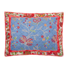 Luna Embroidered Sham,