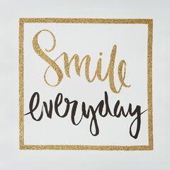 'Smile' Canvas Art,
