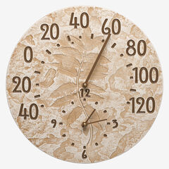 Fossil Sumac Thermometer Clock,