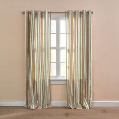 BH Studio Cotton Canvas Striped Grommet Panel,