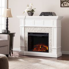 Merrimack Corner Convertible Electric Fireplace,