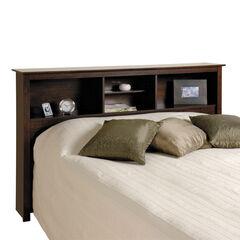 Fremont Espresso Double / Queen Bookcase Headboard,