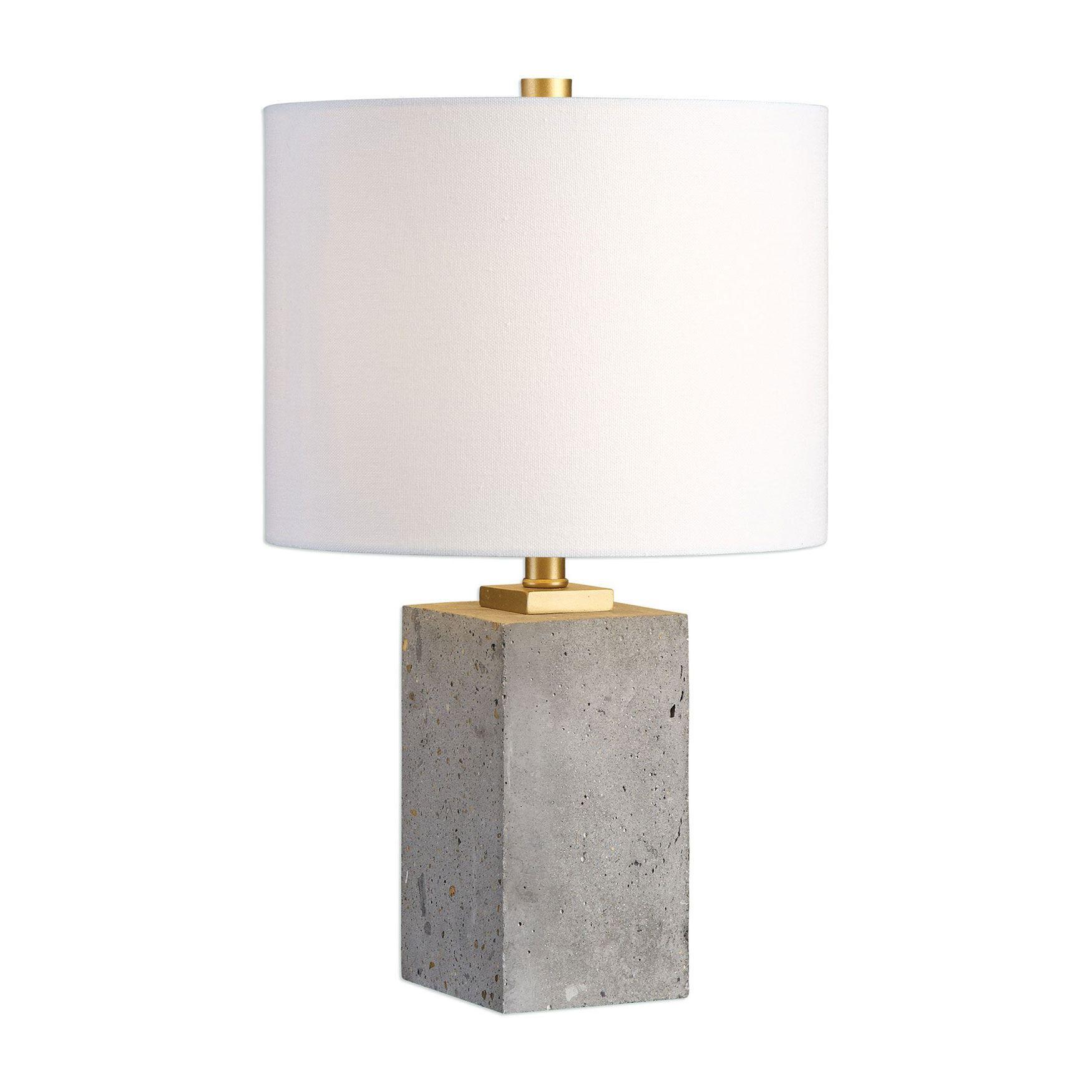 Drexel Concrete Block Lamp