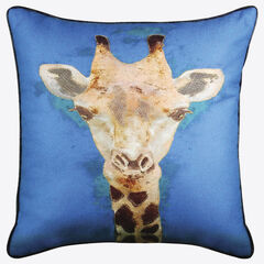 Giraffe Reversible Decorative Pillow,