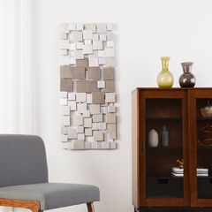 Holly & Martin Wavson Wall Sculpture, METALLIC