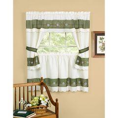Berkshire Embellished Cottage Window Curtain,