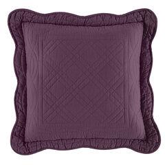 "Florence 16"" Square Pillow, PLUM"