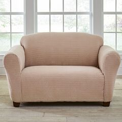 BH Studio® Stretch Diamond Loveseat Slipcover,