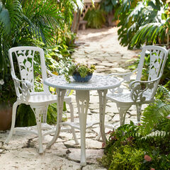 3-Pc Rose Bistro Set,