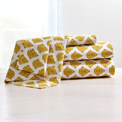 200-TC Graphic Damask Cotton Sheet Sets,