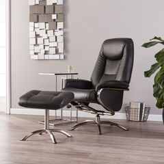 Anders Reclining Chair and Ottoman,