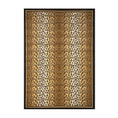 "Zone Leopard Print Rug, 5'2""x7'4"","