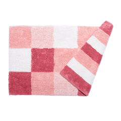 Small Colorblock Reversible Bath Rug ,