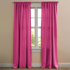 BH Studio Room-Darkening Joy Rod-Pocket Panel, PINK