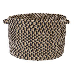 Burmingham Basket by Colonial Mills, BLUE