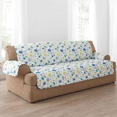 Springtime Extra-Long Sofa Protector,