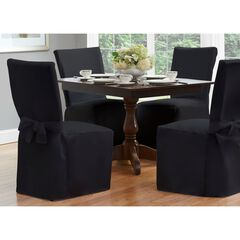 "Fresh Ideas Dining Room Chair Cover 42"" x 19"","