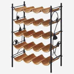 Wicker Wine Rack,