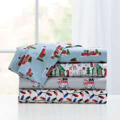 Holly Jolly Christmas Sheet Set,