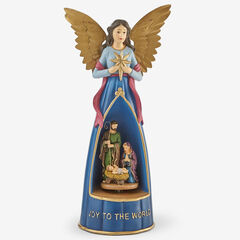 Musical Angel Nativity Statue,