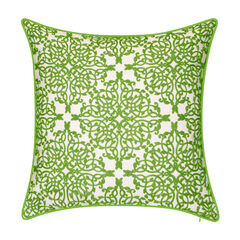 Indoor & Outdoor Embroidered Lace Decorative Pillow,