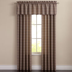 Morrison Plaid Valance,