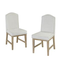 Cambridge White Pair Of Chairs,