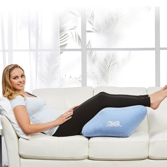 Contour 2-In-1 Relief Leg Wedge, BLUE
